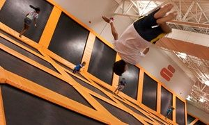 TROY Groupon - $ 16 for a Two-Hour Trampoline Session for One at Airtime Trampoline & Game Park ($24 Value) in Downtown Troy. Groupon deal price: $16