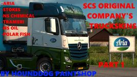 Мастерская Steam :: SCS Original company truckskins Part 1