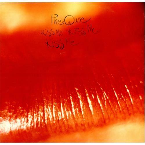 The Cure   The Cure Kiss Me Kiss Me Kiss Me + Insert UK Double Vinyl LP FIXH13 ...