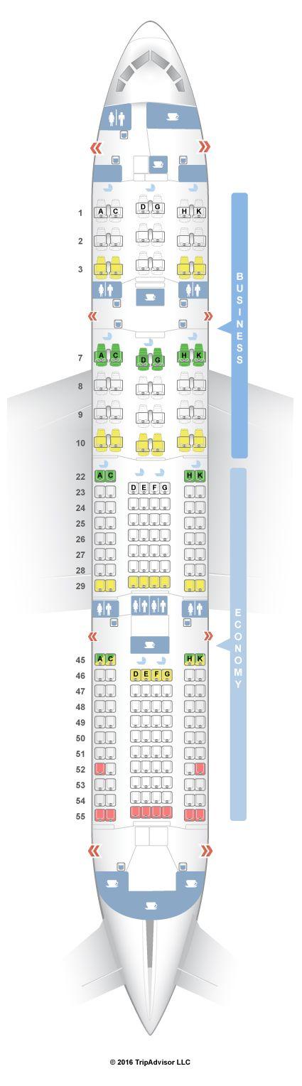 SeatGuru Seat Map Japan Airlines Boeing 787-8 (788) V1