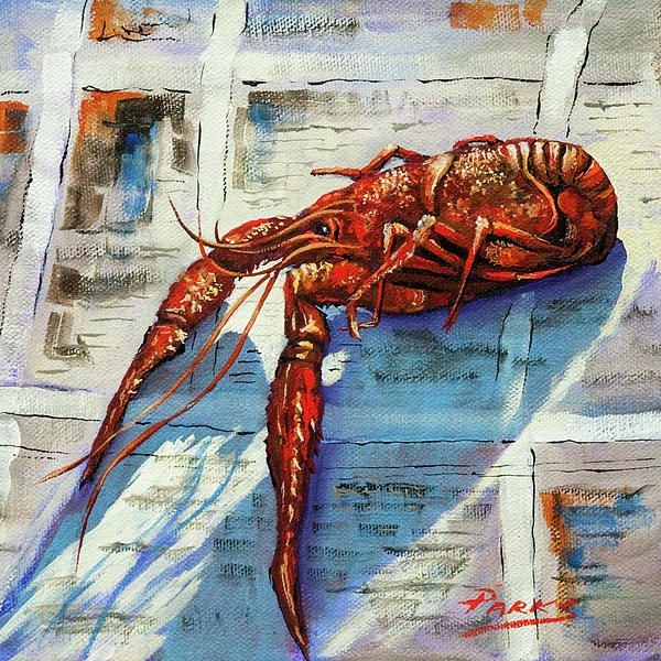 Big Red by Dianne Parks - Big Red Painting - Big Red Fine Art Prints and Posters for Sale
