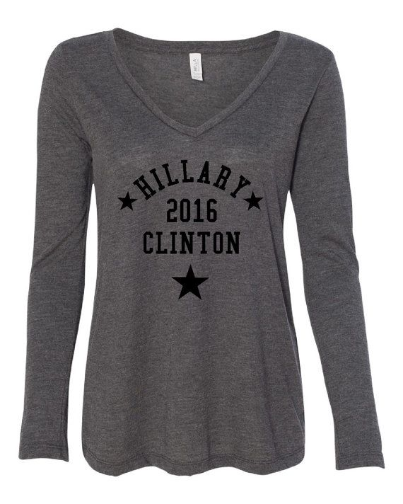 Hillary Clinton First Women Feminist Ladies by HarplynDesigns