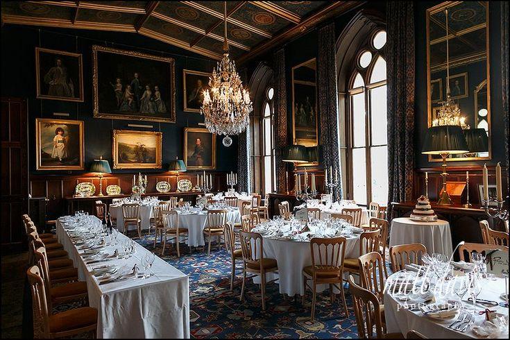 Wedding at Eastnor Castle www.eastnorcastle... #eastnorcastle A romantic, fairytale exclusive-use castle wedding venue.