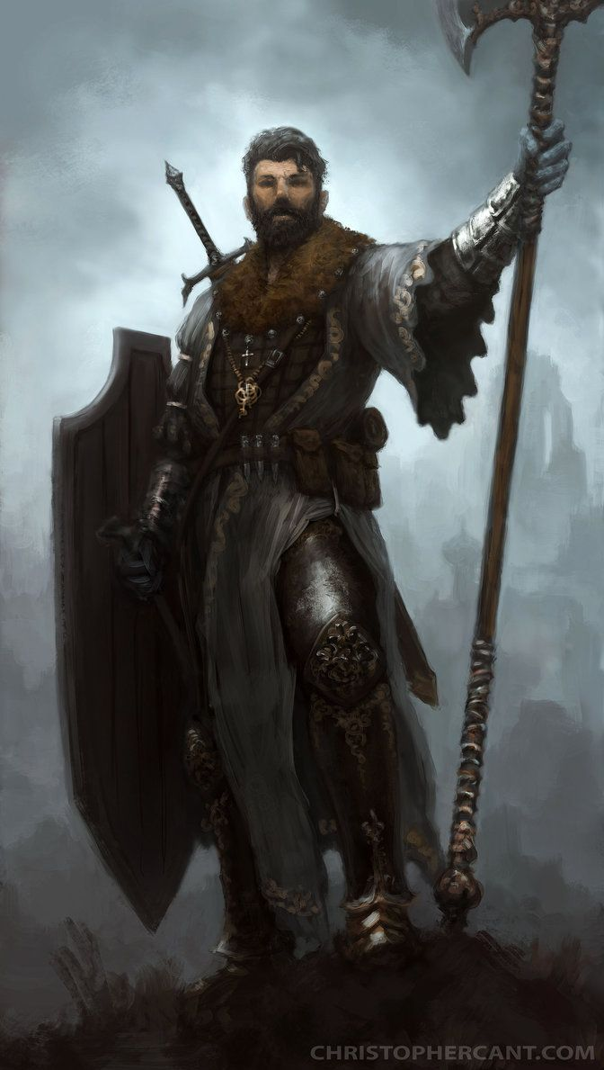 Digital Art   meninfantasyart: Witch Hunter by ChristopherCant