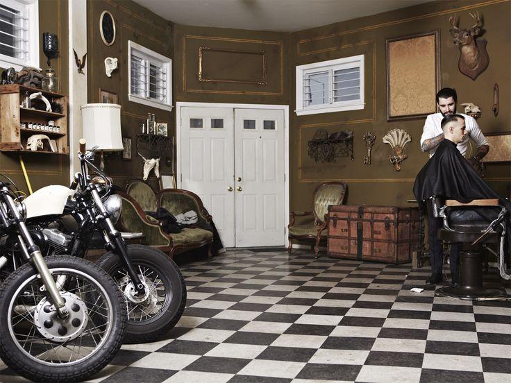 inside brooklyns secret barbershop barbershop ideasbarbershop designmodern - Barbershop Design Ideas