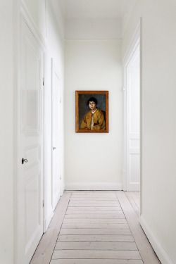 Hallway flooring - horizontal boards
