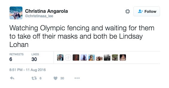 """""""It is every difficult to judge fencing when neither person is actively bleeding."""""""