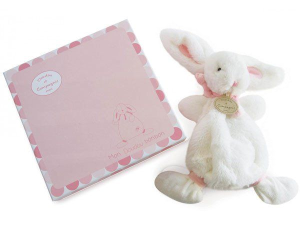 Rabbit DouDou Pink - Soother - Baby Belle