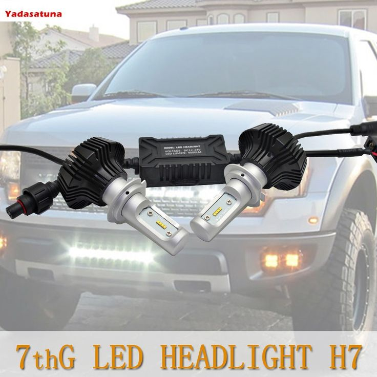54.00$  Buy now - http://alixp1.shopchina.info/1/go.php?t=32807115526 - 2*8000LM H7 LED Phare Ampoule conversion de Rechange Auto Vehicule Conduire Lampe Feux Lumiere Pour Voiture Automobile Blanc Pur  #SHOPPING
