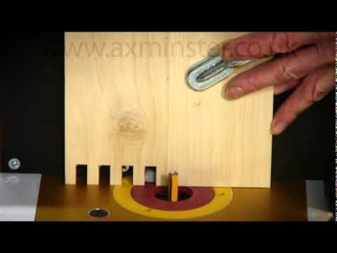 Axminster Box Comb Jointer