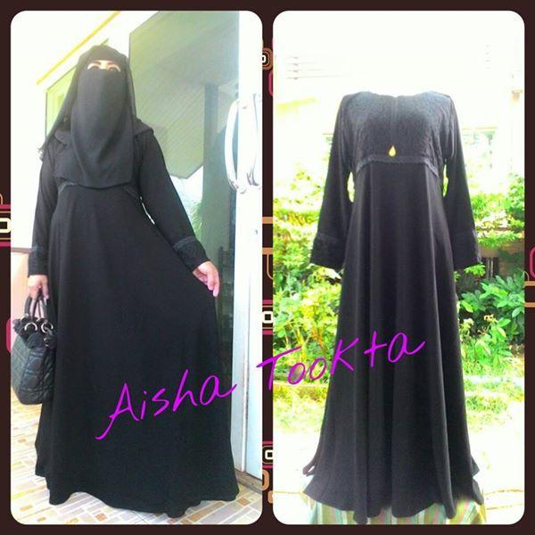 Abaya for sale https://www.facebook.com/aisha.tookta ID LINE: aishatookta 0818479047 อินสตาแกรม : aishatookta