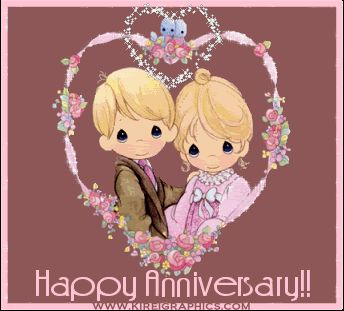 happy anniversary images | Wishing you both a Happy Anniversary and hope you celebrate many many ...
