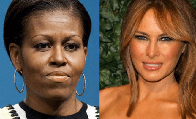 Cartoon Comparing Michelle Obama