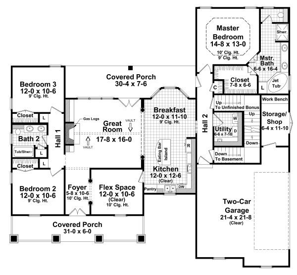 House Plan 216181 And Many Other Home Plans Blueprints
