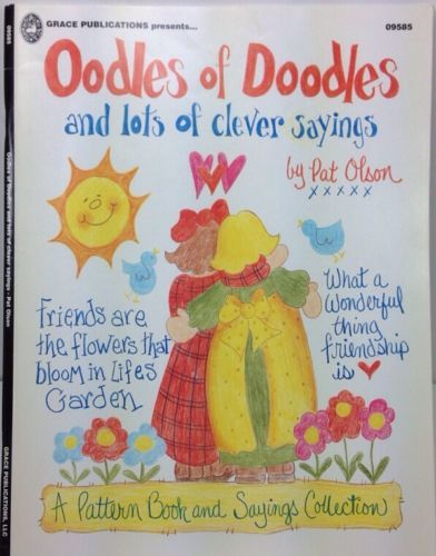 Oodles Of Doodles Clever Sayings Pat Olson Tole Painting Designs