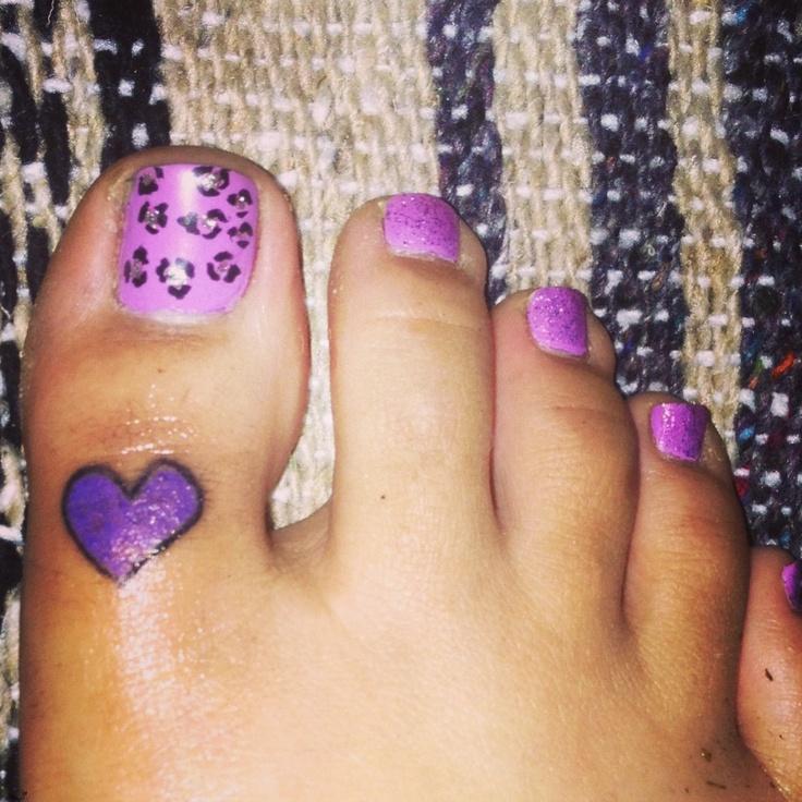 Purple Heart . Bestfriend tattoo. Breanda we should so get them!!!!! (: