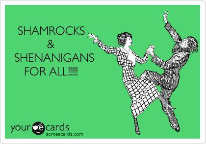 St. Patrick's Day Funnies, LOL - DIY Vintage Chic: Top Ten Tuesday ~ St Patrick's Day ~ No. 105 #StPats #LOL