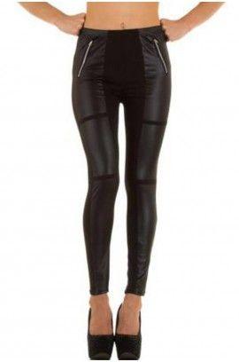 Κολάν - Sexy leggings black BF93634