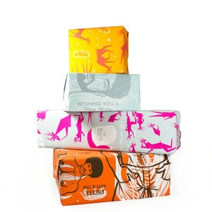 Adult Gift Wrap Set of 4 now featured on Fab.