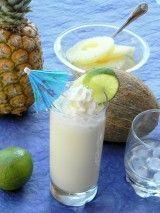Alkoholmentes kókuszkoktél