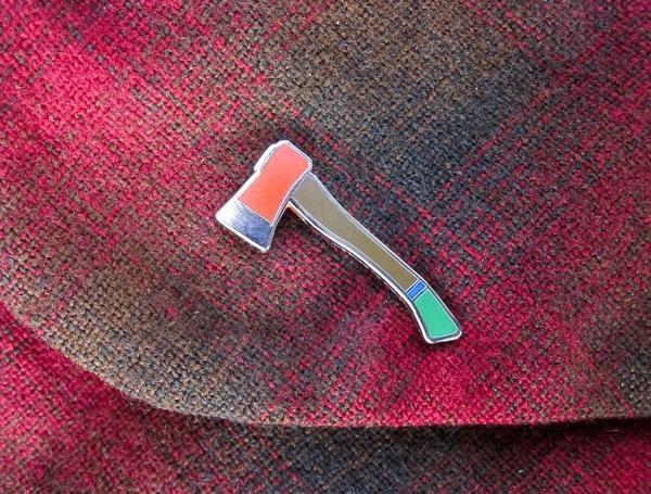 Hatchet Pin