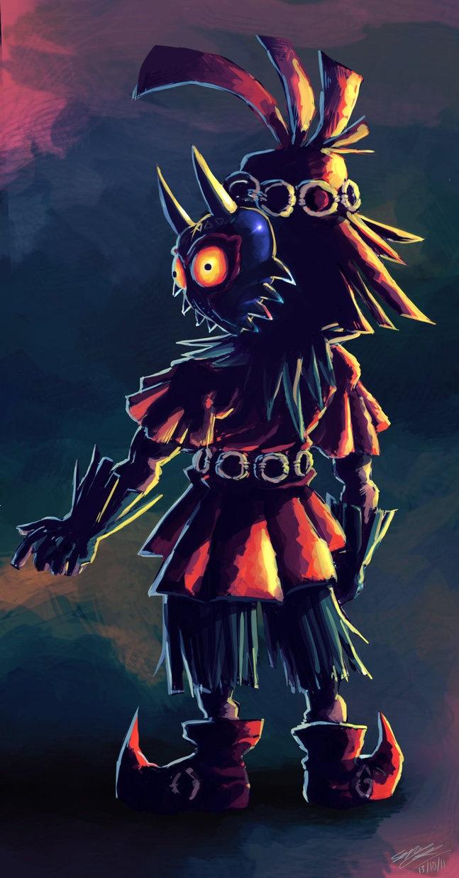 122 best Mischievous Imp, Skull Kid images on Pinterest ...