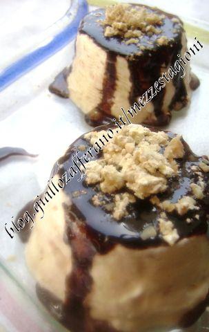 Semifreddo al torrone e cioccolato |Ricetta dolce facile|