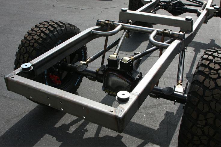 A 4link rear suspension idea Classic bronco, Early
