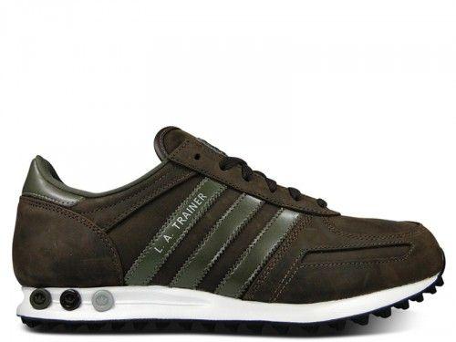 Adidas La Trainer 2 Noir Et Rouge