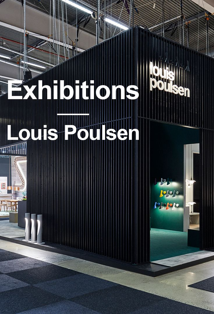 Check out all our boards from our exhibitions at our Louis Poulsen Pinterest page.   Get inspired to use our iconic lamps by danish designers in your own home décor.