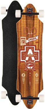 Arbor Prodigy longboard