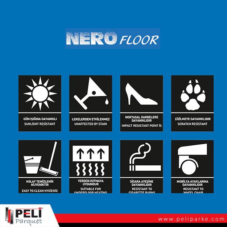 İLK DEFA ıslak mekanlarda parke kullanımının önünü açan Nero Floor'un özelliklerine yakından baktınız mı?