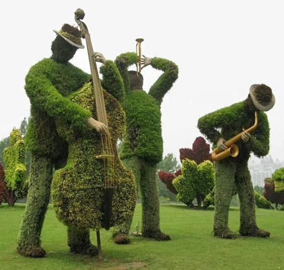 topiary that will make your yard stand head and shoulders above the rest!
