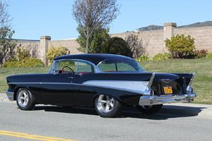 Click to View Roy Brizio Street Rods Completed Cars - Danny Sullivan - 1957 Chevrolet - San Francisco CA