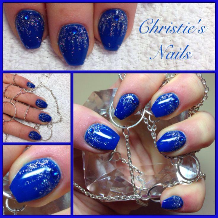 Christie's Corner  Beautiful blue coffin nails