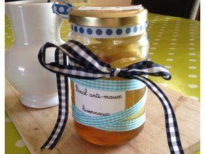 DIY - Un bocal contre les maux hivernaux (citron/miel/gingembre/thé) --> Idée cadeau!