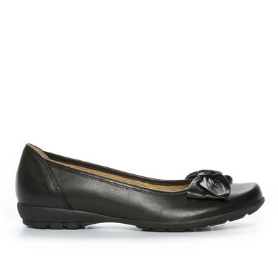 Nilson Shoes Ballerinaskor Sko Skinn Svart