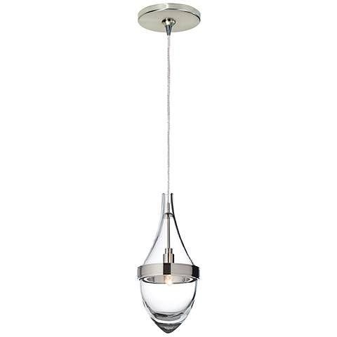 "POWDER? Tech Lighting Parfum 4 1/4"" Wide Satin Nickel Mini Pendant - #84367-6D348 | Lamps Plus"