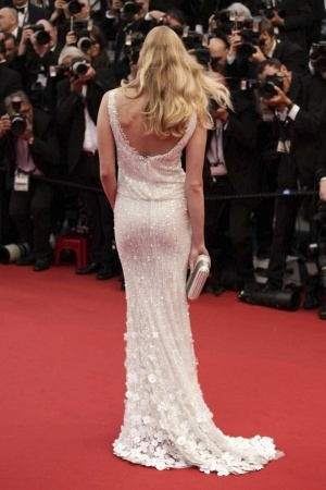 White embellished gown #bestdressed @ Cannes Film Festival 2013 - Opening Ceremony Red Carpet - The Great Gatsby #fashion