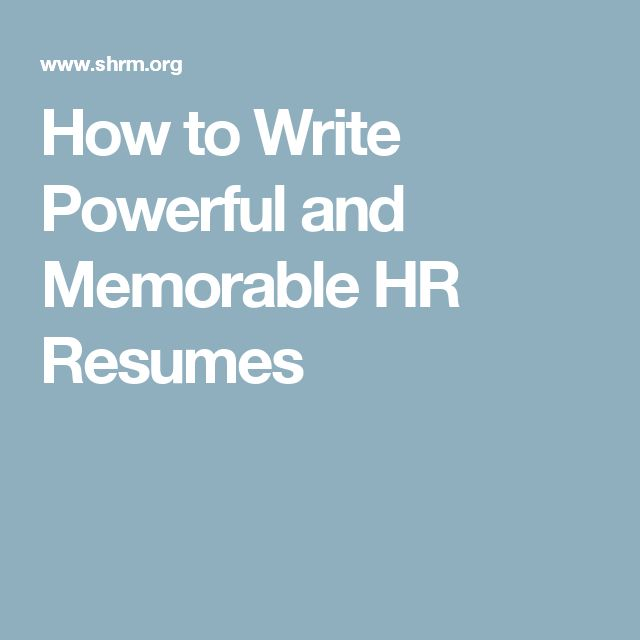 78 best She Works Hard For The Money images on Pinterest - how to write a powerful resume