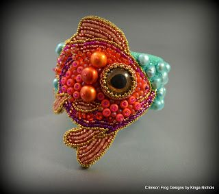 Crimson Frog Designs by Kinga Nichols: Bracelets