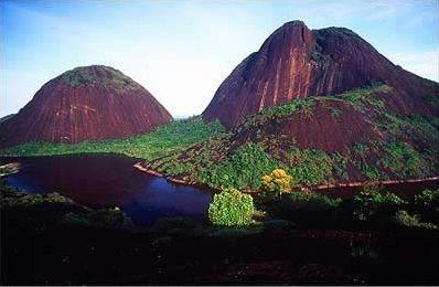 Cerro de Mavecure. Guainia