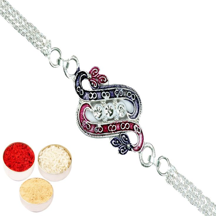 #RakshaBandhan #rakhi #amazoncoupon #online #shopping #offer Rakhis Online-Slk4- Double's Silver Rakhi only Rs. 251, A beautiful silver Plated Rakhi traditionally designed with coloured stones and diamonds to make it unique in its own way.The same rakhi would be sent as shown in the image but in case of last minute shortages the colour or design may slightly vary. Free Roli, Chawal and chandan pouches go along with this product.