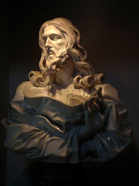 Gian Lorenzo Bernini | Gian Lorenzo Bernini: Salvator Mundi nella Basilica di San Sebastiano ...