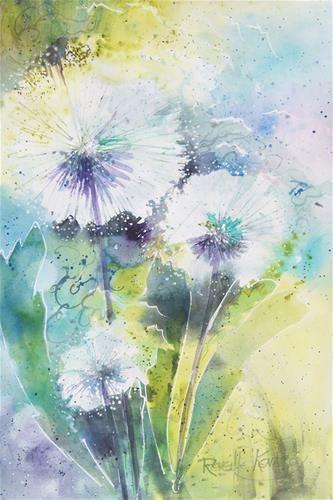 Dandilion Fluff - Original Fine Art for Sale - © Reveille Kennedy