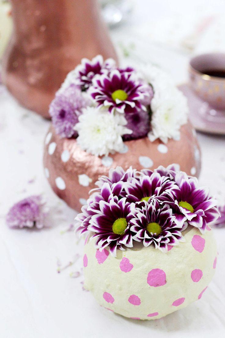top 25 ideas about deko vasen on pinterest | maurerkübel, frosch, Garten und Bauen