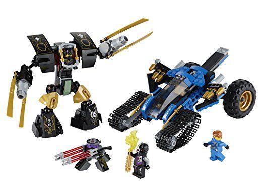 LEGO Ninjago - Playthèmes - 70723 - Jeu De Construction - Le Tout-terrain De Combat 2 En 1: Amazon.fr: Jeux et Jouets