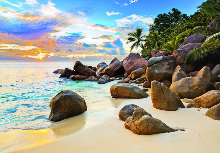 Seychelles - Officially the Republic of Seychelles, is an archipelago and country in the Indian Ocean. The 115-island country, whose capital is Victoria, lies 1,500 kilometers east of mainland East Africa.