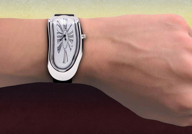 Salvador Dalí's Persistence of Memory Inspired Melted Wristwatch