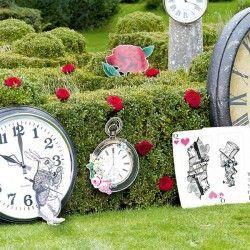 8 Decorazioni di Scena - Alice nel Paese delle Meraviglie